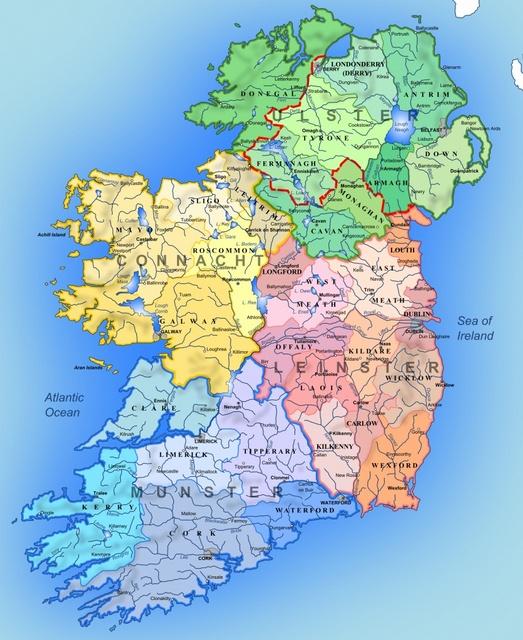 irlande geographie